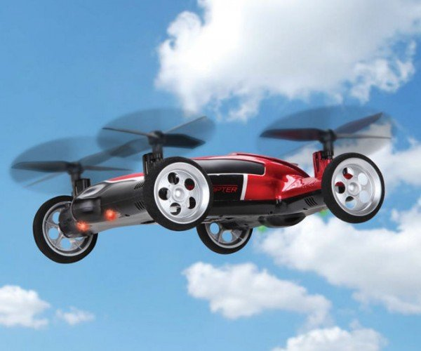 The RC Flying Car: It's a Car, It's a Plane!