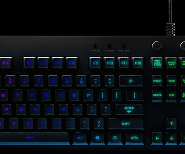 Logitech G810 is A Colorful and Clicky Gaming Keyboard