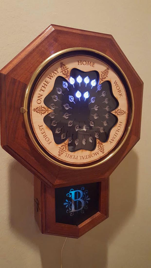 Digital Weasley Clock Muggle Magic