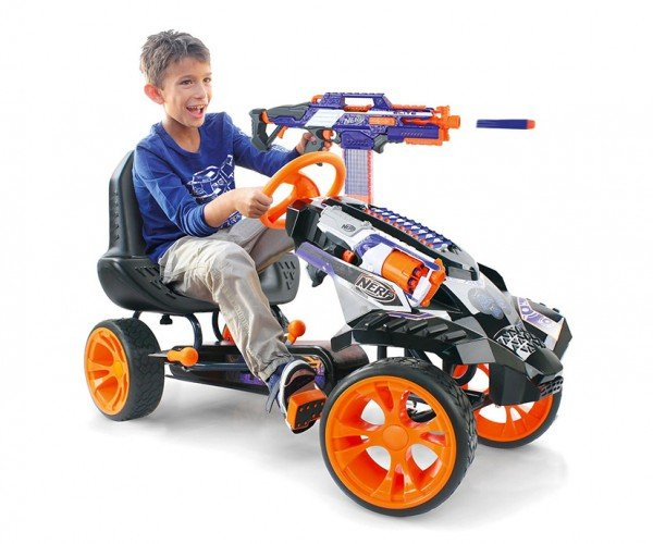NERF Battle Racer Puts the Foam Beatdown on Wheels