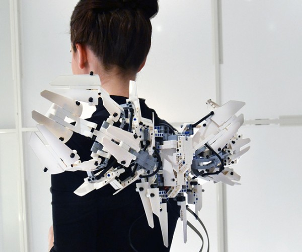 LEGO Mechatronic Wings: Mindstorms Give You Wings