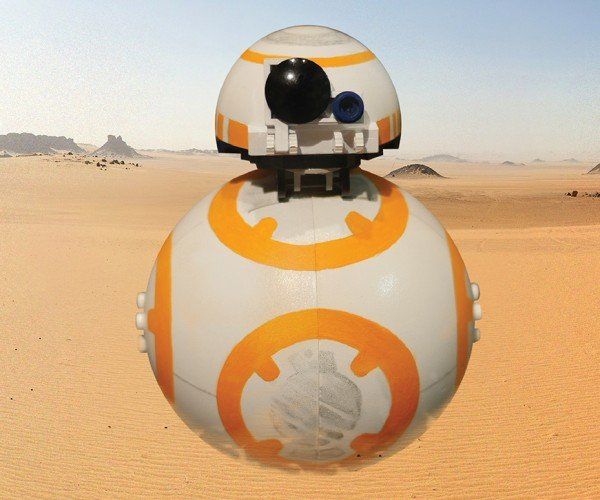 LEGO Rolling BB-8 Concept: Brick Ball