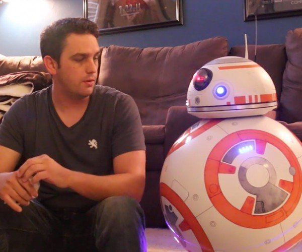 Ed Zarick's Life-size BB-8 Has Everything but the Lighter
