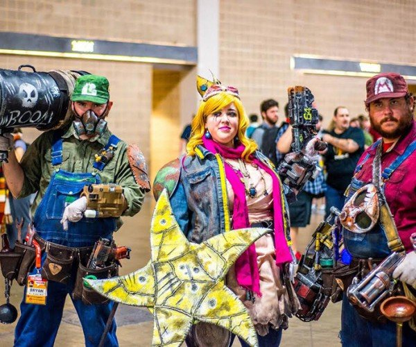 Super Mario Bros. x Fallout Cosplay: Mushroommen