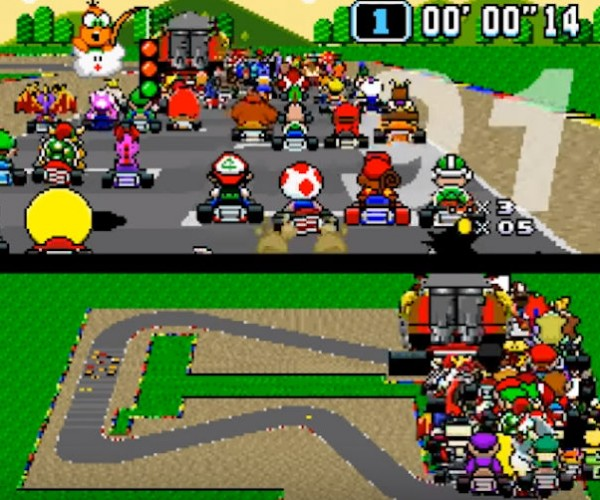 Super Mario Kart With 101 Players