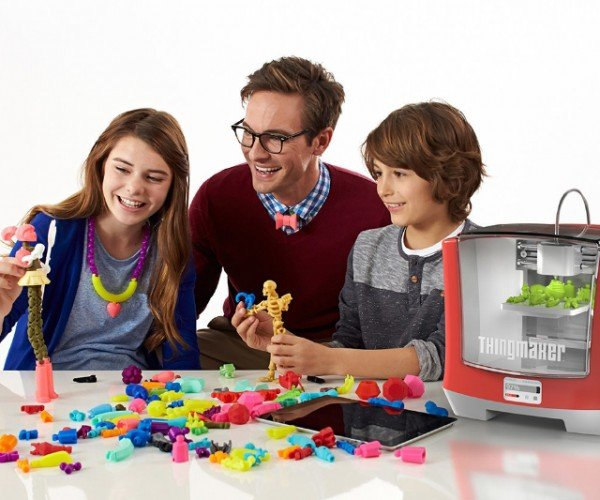 2016 Mattel ThingMaker 3D Printer: Pretty Printer