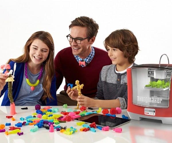 2016 Mattel ThingMaker 3D Printer: Pretty Printer