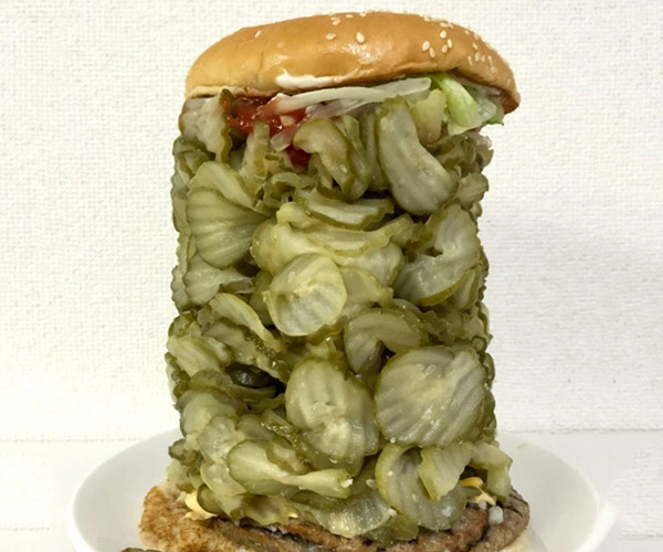 The 700 Pickle Whopper is Brine-tastic