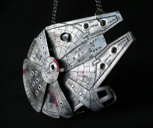 Millennium Falcon Leather Purse: Milleathery Falcon