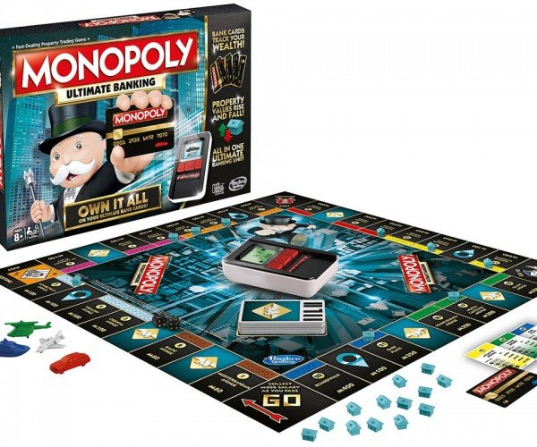 Monopoly Goes Paperless in Ultimate Banking Edition
