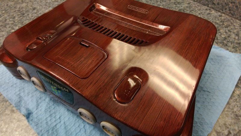 This Custom Nintendo 64 Will Give You Wood