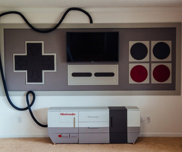 Custom NES Game Room: Nintendo Entertainment Sanctuary
