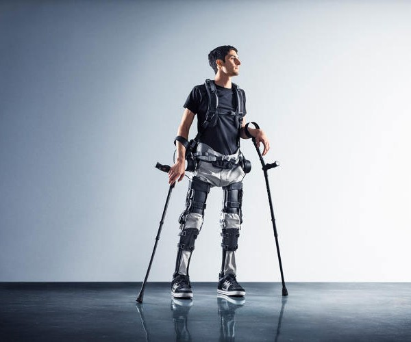 Phoenix Exoskeleton Helps Paraplegics Rise from Their Chairs