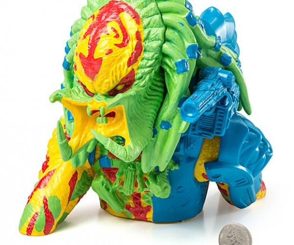 Thermal Unmasked Predator Bank: Over Heeeere