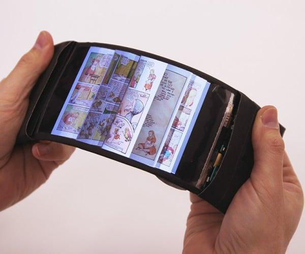 ReFlex Flexible Smartphone: Bend Test This