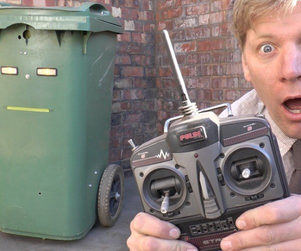 Colin Furze's Remote-Controlled Wheelie Bin: Haul Trash