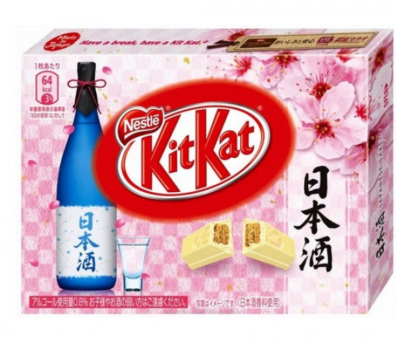 Sake-flavored Kit Kats: Drunk on Chocolate