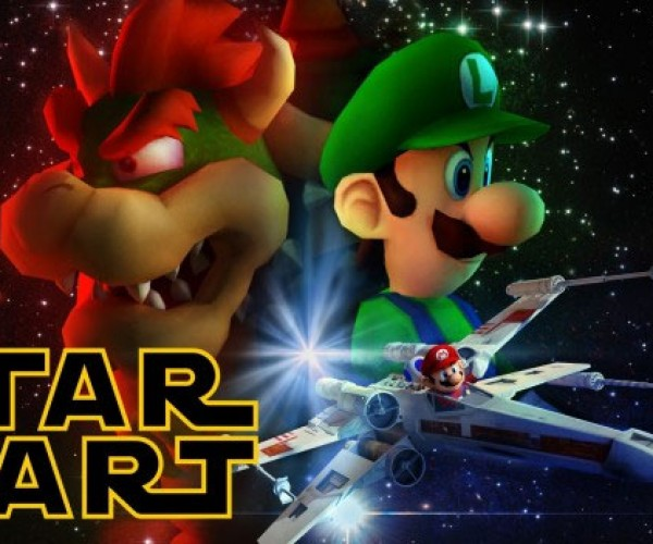 Star Kart Mixes Mario Kart and Star Wars