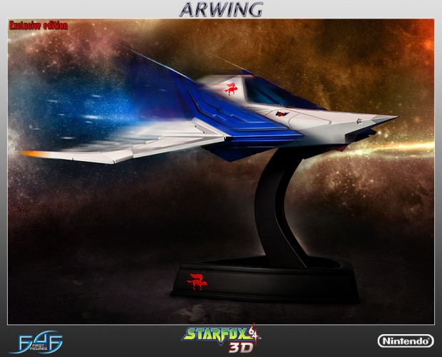 star_fox_arwing_statue_by_first_4_figures_1