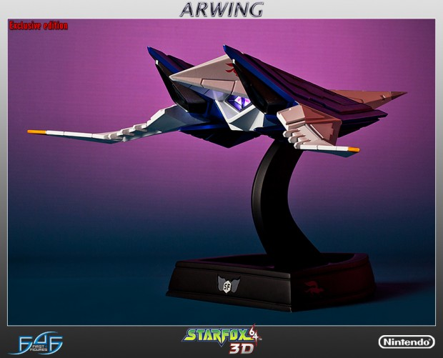 star_fox_arwing_statue_by_first_4_figures_4