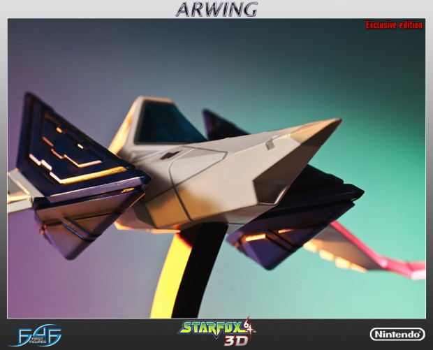 star_fox_arwing_statue_by_first_4_figures_5