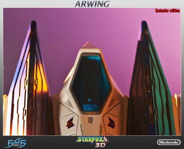 star_fox_arwing_statue_by_first_4_figures_8