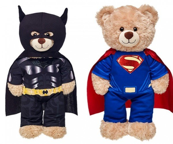 Build-A-Bear Workshop Announces Batman and Superman Outfits: Bearman