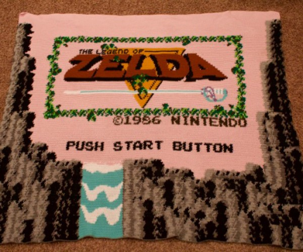 The Legend of Zelda Title Screen Blanket: A Stitch Between Worlds
