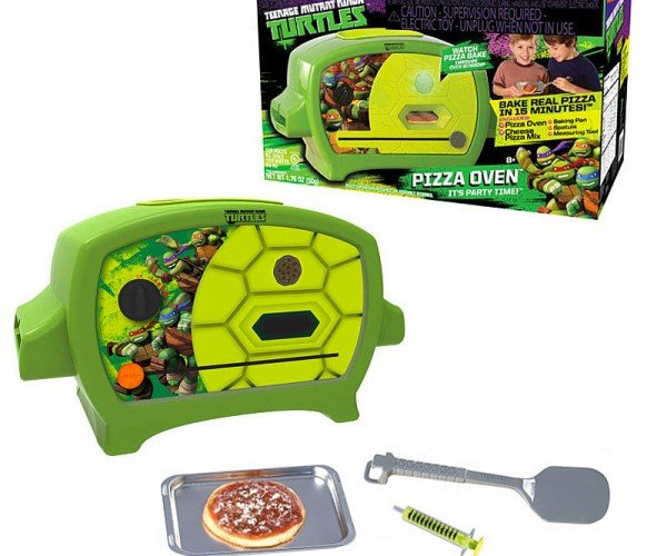 The Official TMNT Pizza Oven: Chewabunga!