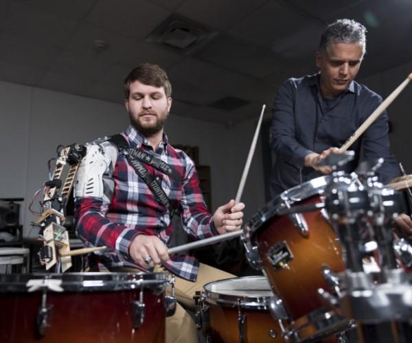 Third Robot Arm for Drummers: Drum Schtick