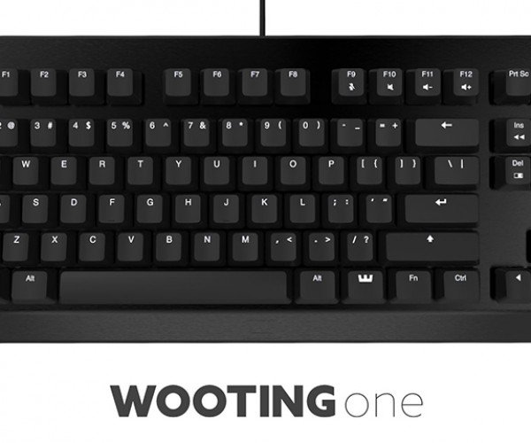 Wooting One Analog Mechanical Keyboard: Nuanced WASD