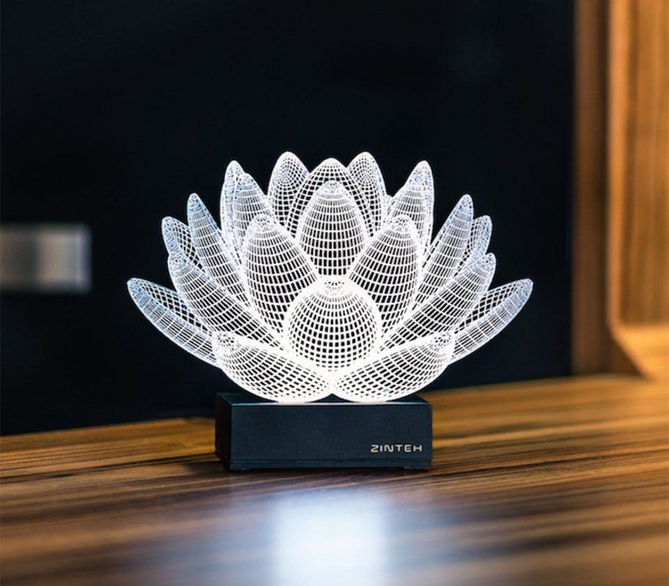 Deal Save 36 On These 3d Illusion Led Lamps Technabob