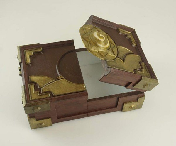 3D Printed Hearthstone Box: He's Gonna Be Rich
