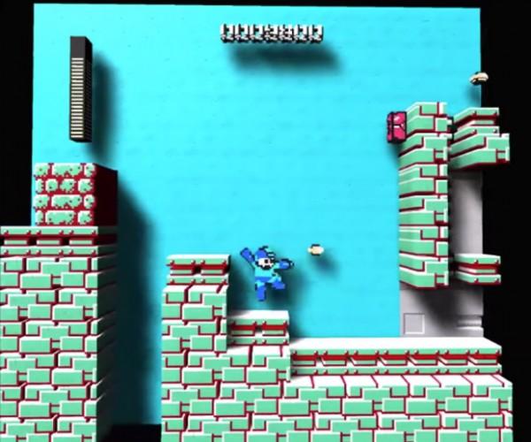 NES Emulator Renders Games in 3D: DDDiorama