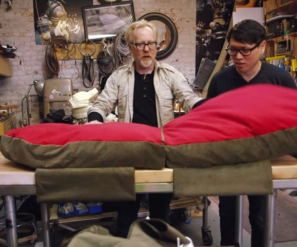 Adam Savage Builds a Car Seat for His Puppies