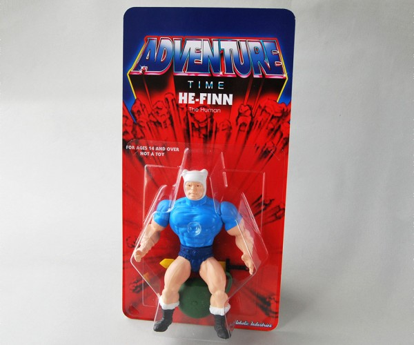 He-Finn the Human Action Figure: Masters of the Oooniverse