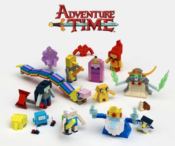 LEGO Confirms Adventure Time Set: LEGOoo