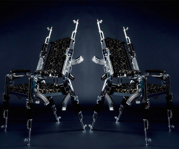 These Chairs Are Made from Real AK-47's