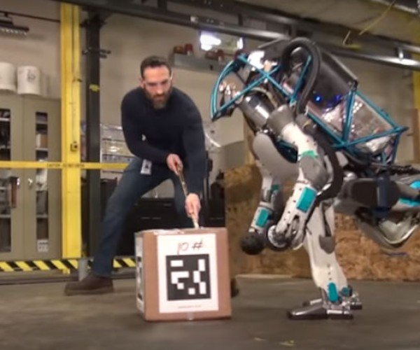 ATLAS Robot Gets Foul Mouthed