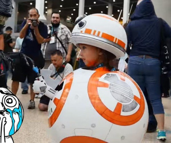 BB-8 Cosplay Kid Is Totally Adorbs