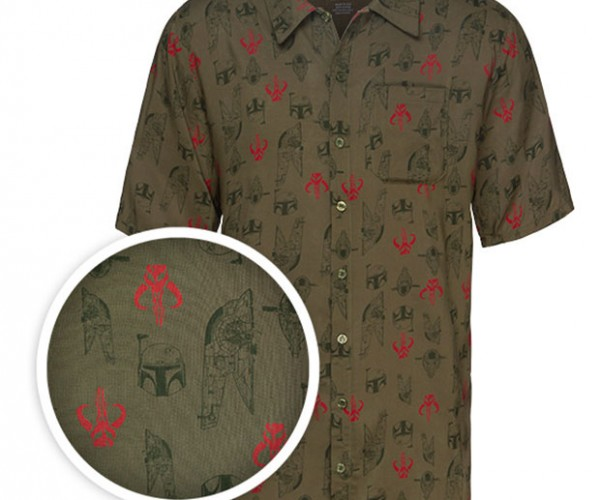 Boba Fett Hawaiian Shirt: For Mandalorian Beach Vacations
