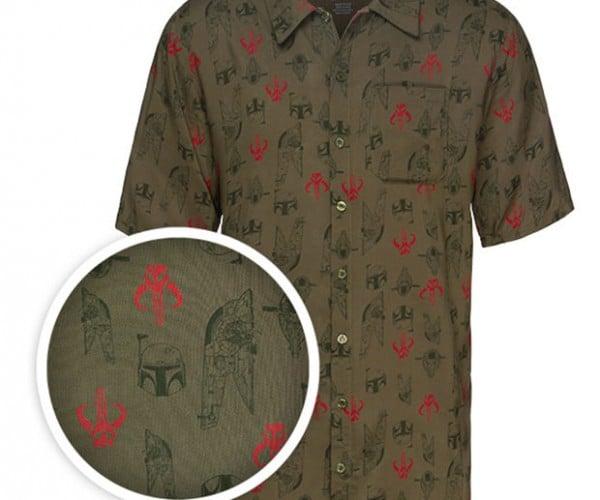 Boba Fett Hawaiian Shirt: For Mandalorian Beach Vacations