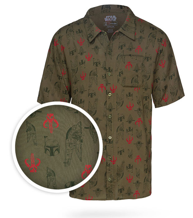 Boba Fett Hawaiian Shirt For Mandalorian Beach Vacations Technabob