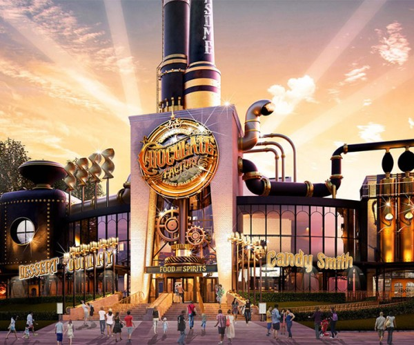 Universal's Chocolate Factory & Savory Feast Emporium: Guess They Couldn't Get the Wonka License