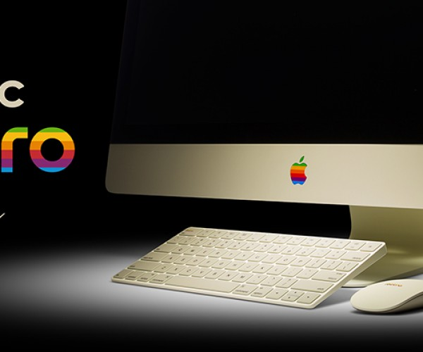 ColorWare Retro 5K iMac, Magic Mouse & Magic Keyboard: Apple ][expensive