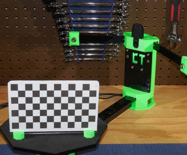CowTech Ciclop 3D Scanner: The One-eyed Scan is Cheap