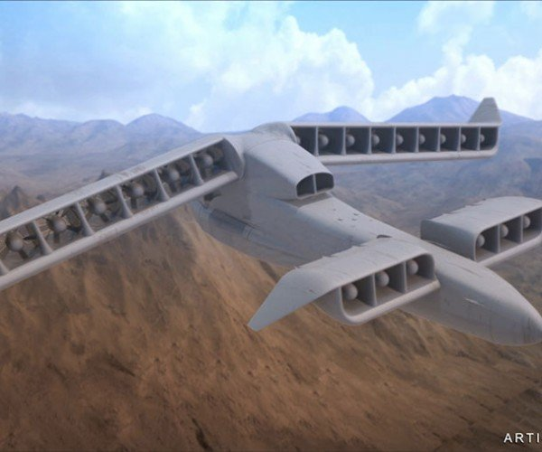 DARPA's Awesome VTOL X-Plane Moves to Phase 2