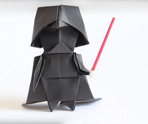 Make Your Own Origami Darth Vader