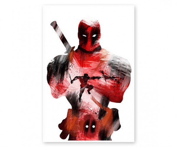 Deal: Save 23% on This Awesome Deadpool Mercenary Poster