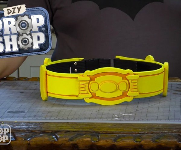 DIY Cheap Batman Utility Belt: Holy Thrift Shop Batman!